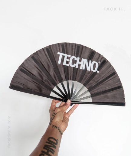 Techno Handfan
